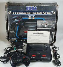Sega Megadrive Mega Drive II Console Boxed Tested & Working 2 Controllers