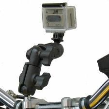 RAM Motorcycle M8 Handlebar Clamp Swivel Arm Camera Mount for GoPro Hero
