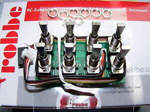 ROBBE Multi-Switch Modul 16 für FUTABA F-14, FC-16, FC-28  Art.8084