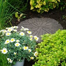 More details for log shaped rubber garden stepping stone non-slip eco friendly stomp stones