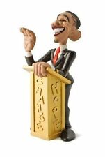 "Barack Obama 9"" Vinyl Political Novelty Big Ears Doll Figure Limited Edition Toy"