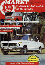 Markt 2/89 1989 CZ Triton Fiat 1300 1500 Morini V Mercedes 190c 190Dc BMW 2002