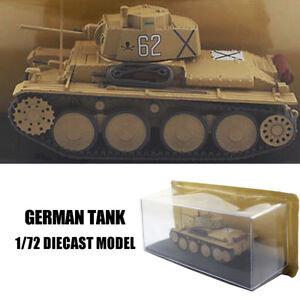 GERMAN TANK 1/72 DIECAST MODEL FINISHED TANK IXO