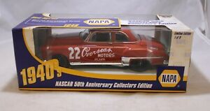 1998 Red Byron 1949 Strictly Stock Champion 1//24 Action NAPA 50th Series Diecast