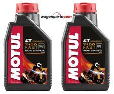 Aceite Motos 4T Motul 7100 5W40, pack 2 litros