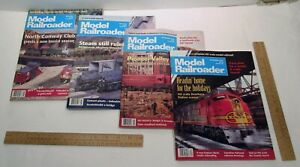 4 - MODEL RAILROADER - magazine back issue - from 1994
