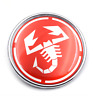 1pcs Scorpion 74mm Abarth Logo Nabenkappe Radkappe