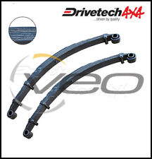 "DRIVETECH 4X4 FRONT 2"" HD RAISED LEAF SPRINGS FITS TOYOTA LANDCRUISER FJ75R"