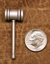 Empire Pewter Gavel Lapel Pin