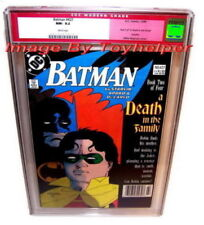 Batman & Robin Mignola Death in the Family Comic Book #427 1988 CGC 9.2