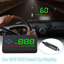 GPS HUD Head Up Display  Auto Geschwindigkeit Speed Warnung Tachometer Universal