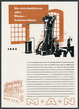 Man Mechanical Augsburg Rudolf Diesel technology inventions Bayer pharmaceutical 1944