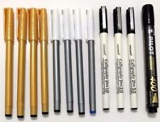 12 X ASSORTED CALLIGRAPHIC PENS ITALIC, ARABIC, PERSIAN, URDU, WRITING PEN