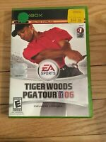 EA SPORTS TIGER WOODS PGA TOUR 06 - XBOX - COMPLETE WITH MANUAL - FREE S/H -(TT)