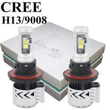 2PCS LED Headlight Kit CREE Light High Low Beam Bulbs For 2005-2012 FORD Mustang