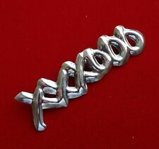 Kisses Bar Pin - 12.6 Grams Taxco Polished Sterling 925 Sculpted Xxxooo Hugs