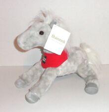New Wells Fargo 2013 Plush Horse SHAMROCK Legendary Pony Gray White P82
