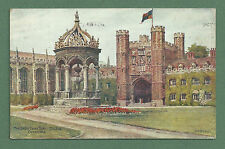 1919 A. R. QUINTON PC THE GREAT COURT TRINITY COLLEGE CAMBRIDGE