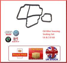 Oil filter Housing Gasket Seals For VW AUDI SEAT SKODA 1.6 2.0 TDI 03L 198 441