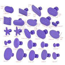 24x Purple Glue Puller Tab Fit for Auto Car Body Hail Paintless Dent Repair Tool