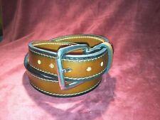 "Handmade Thick Leather Gun Belt 1.5"""