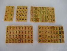 Vintage Butterscotch Bakelite Mah Jongg Tiles