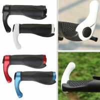 Ergonomic MTB Mountain Bike Bicycle Rubber Grips Cycling Ends Lock-On S8C3