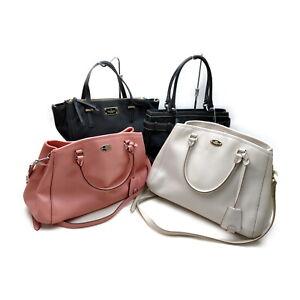 Coach Tote Bag 4 pieces set Black Canvas 1135981