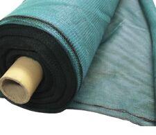 Jersey de 50 M x 1 M Malla cortaviento 50% Sombra Invernadero Jardín rodillo a granel