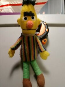 Sesame street Vintage 7 In. Mini Burt Plush Figure Pre Owned