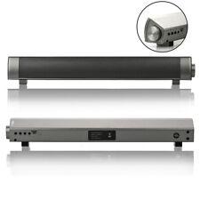 Barre de Son Enceinte Portable Bluetooth Haut-parleur Lecteur Carte TF MP3