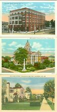 Valdosta  GA Collector's Set of 3