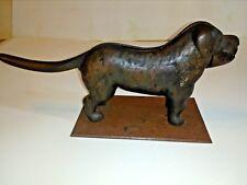 Vintage Cast Iron Dog Nut Cracker On A Cast Iron Stand