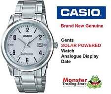 AUSTRALIAN SELLER CASIO MTP-VS01D-7BD SOLAR POWERED WITH DATE 12 MONTH WARRANTY