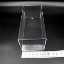 Acrylic Display Case Model Cars Show Box Dust Proof Black Base 1:32 Transparent