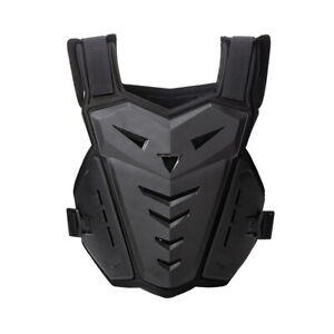 Adult Motorbike Scooter Chest Protective Racing Body Armor Off Road Gear Black