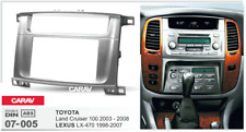 Car Stereo Fascia Dash Panel 2 Din Frame Trim Kit for TOYOTA Land Cruiser/ LEXUS