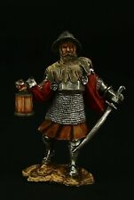 Tin soldier, Collectible, Silesian Knight, XV c.  54 mm, Medieval