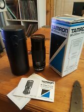 TAMRON 80-210mm F3.8 TELE MACRO ZOOM BOXED with CASE