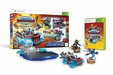 SKYLANDERS STARTER PACK SUPERCHARGERS  Xbox 360 Land Sea Air Video Game Poster+