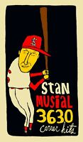 "Stan Musial St Louis Cardinals: MLB Baseball HOF Wall Art Poster Print 10""x17"""