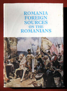 ROMANIA HISTORY 133 DOCUMENTS FACSIMILE ARCHIVES  ILLUSTRATIONS Foreign Sources