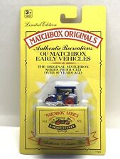 Matchbox Originals Road Roller No. 1 with Collector Box New in Package ~ Limited