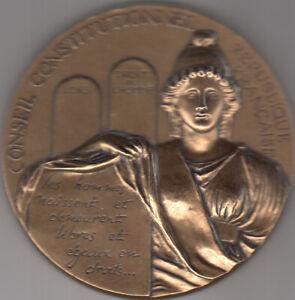 France Médaille en bronze Conseil Constitutionnel MDP