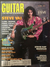 Guitar For The Practicing Musician. December1986. Featuring Steve Vai.
