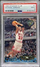 1995-96 Stadium Club Michael Jordan #1 PSA 9 Mint Bulls