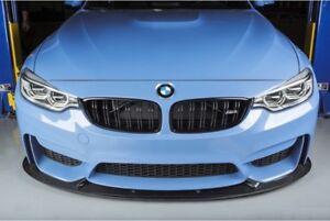 Carbon Fiber 3D Style Front Splitter Lip Spoiler For BMW M3 F80 M4 F82 F83
