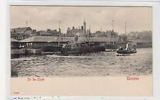 ON THE CLYDE: Glasgow postcard (C27026)