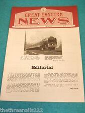 GREAT EASTERN NEWS # 75 - SUMMER 1993