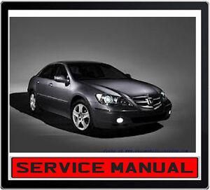 HONDA LEGEND KB1 2005-2008 REPAIR SERVICE MANUAL ~ DVD